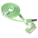 NEWTECH Kabel Apple iPhone 4 1M - Green (Merchant) - Cable / Connector Usb