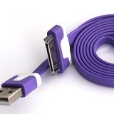 NEWTECH Kabel Apple iPhone 4 1M - Purple (Merchant) - Cable / Connector Usb