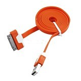 NEWTECH Kabel Apple iPhone 4 1M - Red (Merchant) - Cable / Connector Usb