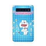 NEWTECH Mobile Power Bank Ultra Slim Cartoon Character Doraemon LCD Touch Screen 6000mAh Rechargeable [SL01] - Portable Charger / Power Bank