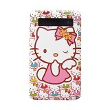 NEWTECH Mobile Power Bank Ultra Slim Cartoon Character Hello Kitty LCD Touch Screen 6000mAh Rechargeable [SL04] - Portable Charger / Power Bank