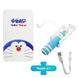 NEWTECH Paket 4in1 - Biru (Merchant) - Portable Charger / Power Bank