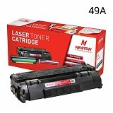 NEWTON Black Toner 49A (Merchant) - Toner Printer Refill