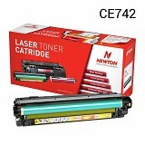 NEWTON Yellow Toner CE742A (Merchant) - Toner Printer Refill