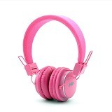 NIA Bluetooth Headset Q8 - Pink - Headset Bluetooth
