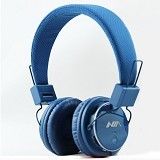 NIA Headphone Bluetooth [Q8-J355] - Biru Tua - Headphone Portable