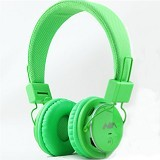 NIA Headphone Bluetooth [Q8-J355] - Hijau Muda - Headphone Portable