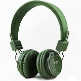 NIA Headphone Bluetooth [Q8-J355] - Hijau Tua - Headphone Portable
