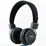 NIA Headphone Bluetooth [Q8-J355] - Hitam - Headphone Portable