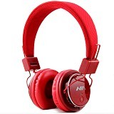 NIA Headphone Bluetooth [Q8-J355] - Merah - Headphone Portable