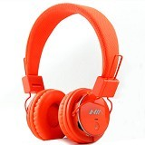NIA Headphone Bluetooth [Q8-J355] - Orange - Headphone Portable