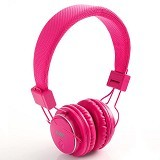 NIA Headphone Bluetooth [Q8-J355] - Pink - Headphone Portable