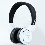 NIA Headphone Bluetooth [Q8-J355] - Putih - Headphone Portable