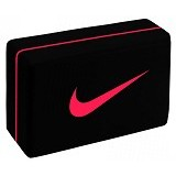 NIKE Essential Yoga Block [N.YE.12.080.OS] - Black/Lt Crimson - Other Exercise