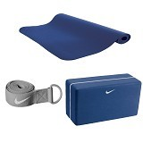 NIKE Essential Yoga Kit [N.YE.13.470.OS] - DeepRoyalBlue CoolGrey