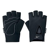 NIKE Mens Fundamental Training Gloves Size M [9.092.052.037] - Black White - Pelindung Tangan / Hand Support