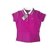 ZADISA Polo Shirt Women Size M (Sisa Export) - Pink - Polo Wanita