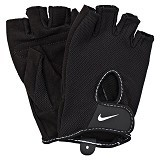 NIKE Womens Fundamental Training Gloves II Size M [N.LG.17.010.XS] - Black White - Pelindung Tangan / Hand Support