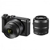 NIKON 1 J5 Mirrorless Digital Camera Double Kit - Black (Merchant) - Camera Mirrorless
