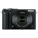 NIKON 1 J5 Mirrorless Digital Camera Kit1 - Black (Merchant) - Camera Mirrorless