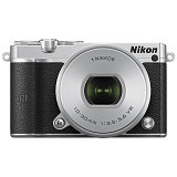 NIKON 1 J5 Mirrorless Digital Camera Kit1 - Silver - Camera Mirrorless
