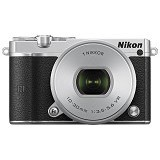 NIKON 1 J5 Mirrorless Digital Camera Kit1 - Silver (Merchant) - Camera Mirrorless