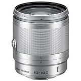 NIKON 1 NIKKOR VR 10-100mm f/4-5.6 - Silver - Camera Mirrorless Lens