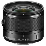NIKON 1 NIKKOR VR 6.7-13mm f/3.5-5.6 - Black - Camera Mirrorless Lens