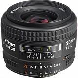 NIKON AF NIKKOR 35mm f/2D Lens - Camera SLR Lens