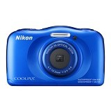 NIKON COOLPIX S33 - Blue - Camera Underwater
