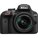 NIKON Camera DSLR D3400 Kit (Merchant) - Camera Slr