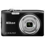 NIKON Coolpix A100 - Black (Merchant) - Camera Pocket / Point and Shot