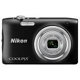 NIKON Coolpix A100 - Black (Merchant) - Camera Pocket / Point and Shot