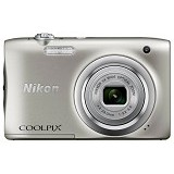 NIKON Coolpix A100 - Silver (Merchant) - Camera Pocket / Point and Shot