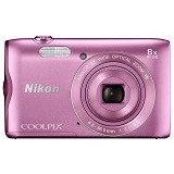 NIKON Coolpix A300 - Pink - Camera Pocket / Point and Shot