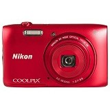 NIKON Coolpix A300 - Red - Camera Pocket / Point and Shot