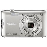 NIKON Coolpix A300 - Silver - Camera Pocket / Point and Shot