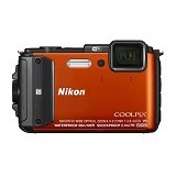 NIKON Coolpix AW130 - Orange - Camera Underwater