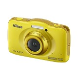 NIKON COOLPIX S33 - Yellow - Camera Underwater