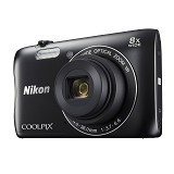NIKON COOLPIX S3700 - Black - Camera Pocket / Point and Shot