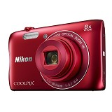 NIKON COOLPIX S3700 - Red - Camera Pocket / Point and Shot