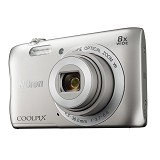 NIKON COOLPIX S3700 - Silver - Camera Pocket / Point and Shot