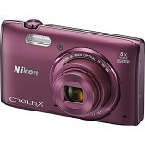 NIKON Coolpix S5300 - Plum - Camera Pocket / Point and Shot