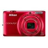 NIKON Coolpix S6500 - Red - Camera Pocket / Point and Shot