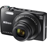 NIKON COOLPIX S7000 - Black - Camera Pocket / Point and Shot