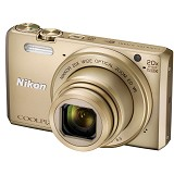 NIKON COOLPIX S7000 - Gold - Camera Pocket / Point and Shot