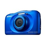 NIKON Coolpix W100 - Blue (Merchant) - Camera Pocket / Point and Shot