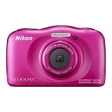 NIKON Coolpix W100 - Pink (Merchant) - Camera Pocket / Point and Shot