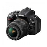 NIKON D5200 Kit VR II - Black - Camera SLR