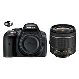NIKON D5300 Kit AF-P - Black - Camera Slr